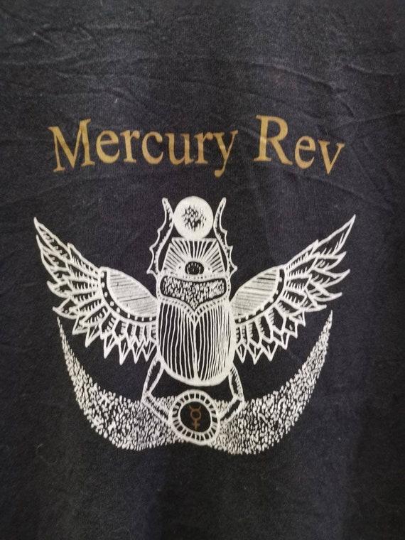 Vintage 1990's Mercury Rev T-Shirt Black M Size 90