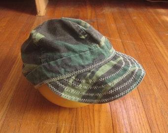ac90c57a947 Medium   Large 80s Camouflage Welders Cap   Cotton