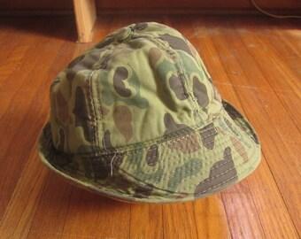 cebd21cbf73d1 Large 60s Camouflage Bucket Cap   Hunting