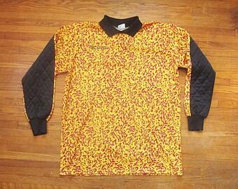 341d6417953 Large   XL 90s Score Soccer Crazy Pattern Goalie Jersey   Sportswear