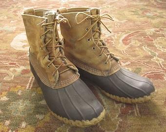 d7337e7952e52 Ll bean duck boots | Etsy