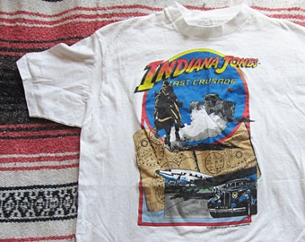 3c26ef45738 Large   XL Indiana Jones   The Last Crusade T-Shirt   Harrison Ford