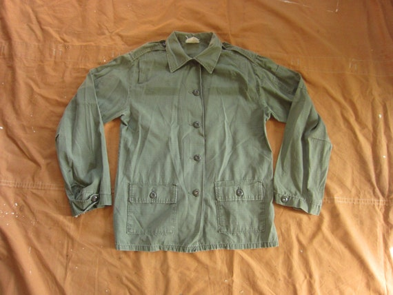 Medium / Large 60s Women's US Army Ripstop Jungle