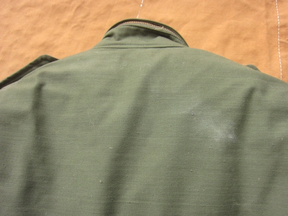 Large 70s Alpha Industries US Army M-65 Field Jac… - image 10
