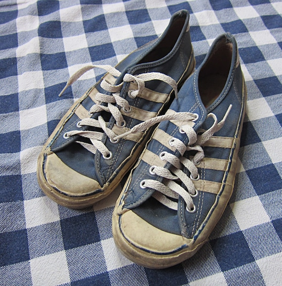 Size 7 Women s 60s Keds Allsport Canvas   Rubber Sneakers  f7f3f6cd17