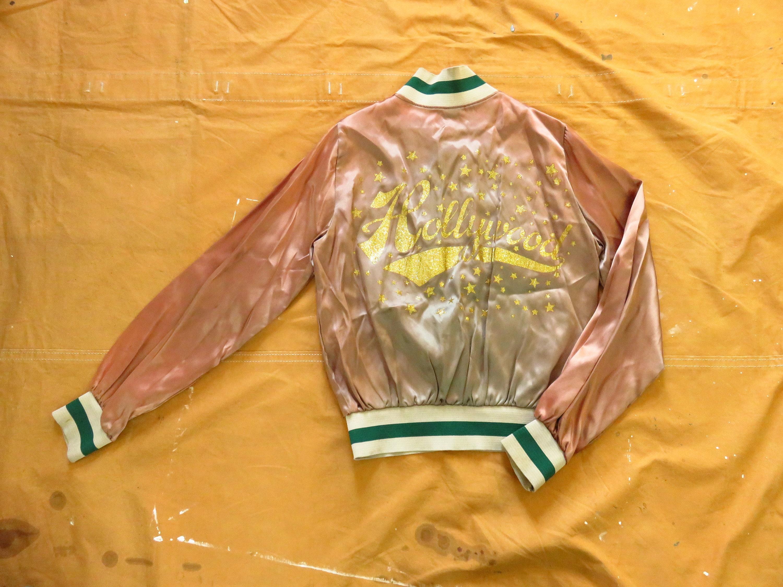 1960s – 70s Men's Ties | Skinny Ties, Slim Ties Small 60S70S Hollywood Glitter Acetate Jacket Roller Rink Derby, 1960S 1970S, Los Angeles California, Pink Green Bomber, Womens, Xs $0.00 AT vintagedancer.com