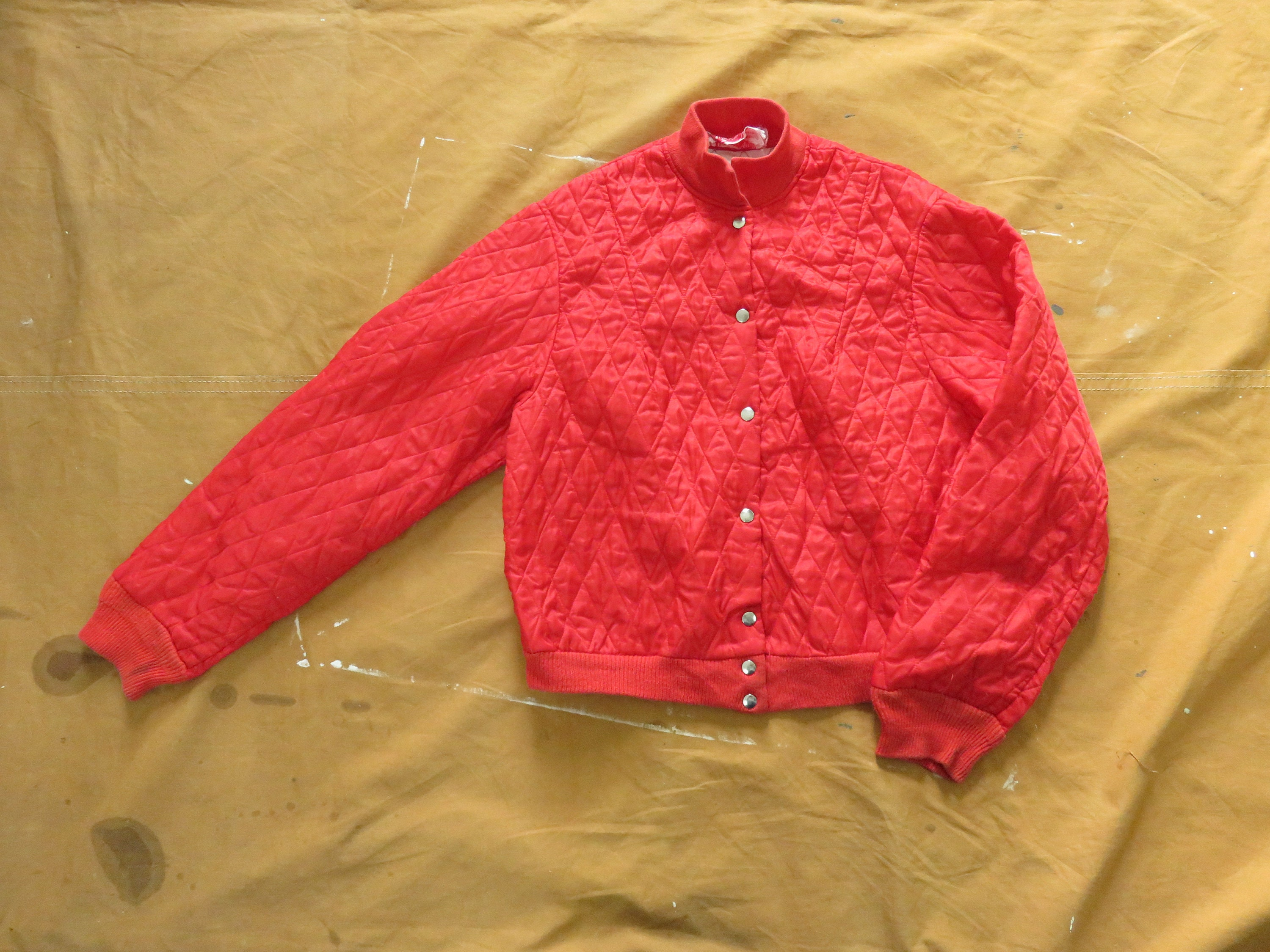 1950s Mens Hats | 50s Vintage Men's Hats Small 50S Red Quilted Liner JacketThermal, 1950S 1960S 60S, Baffled, Insulated Coat $0.00 AT vintagedancer.com