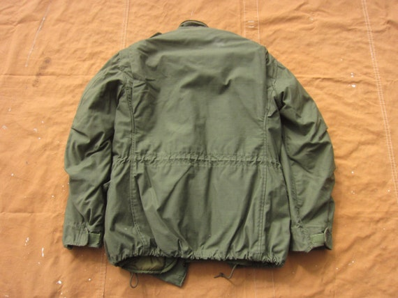 Large 70s Alpha Industries US Army M-65 Field Jac… - image 8