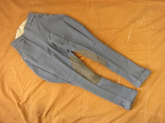 27 / 28 x 30 60s Tailor Made Equestrian Pants / Jo