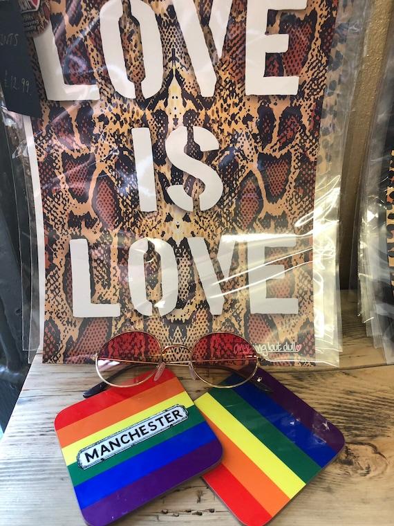 Pride coasters