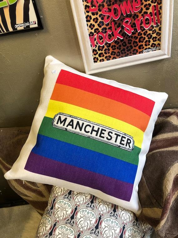 Manchester Pride Cushion