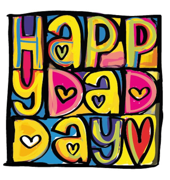 Happy Mondays inspired Father's/Dad Day Greeting Card