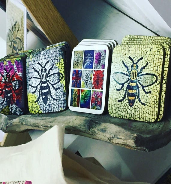 Manchester Bee Coaster