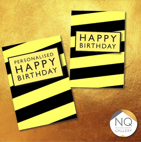 Manchester's Hacienda music scene inspired Happy Birthday greeting card