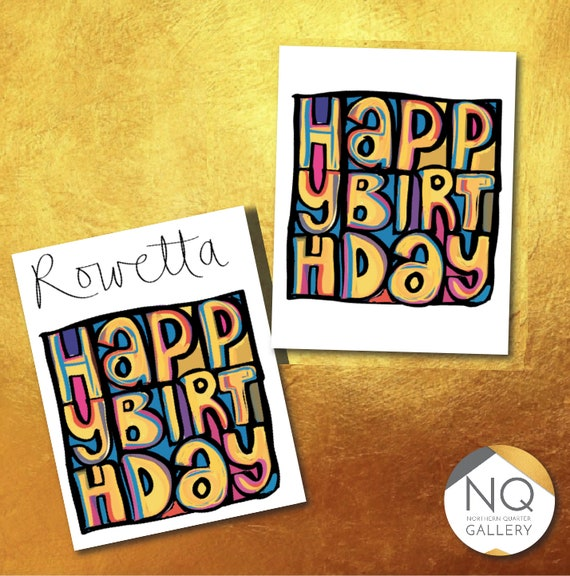 Happy Birthday - happy mondays album artwork inspired greeting card