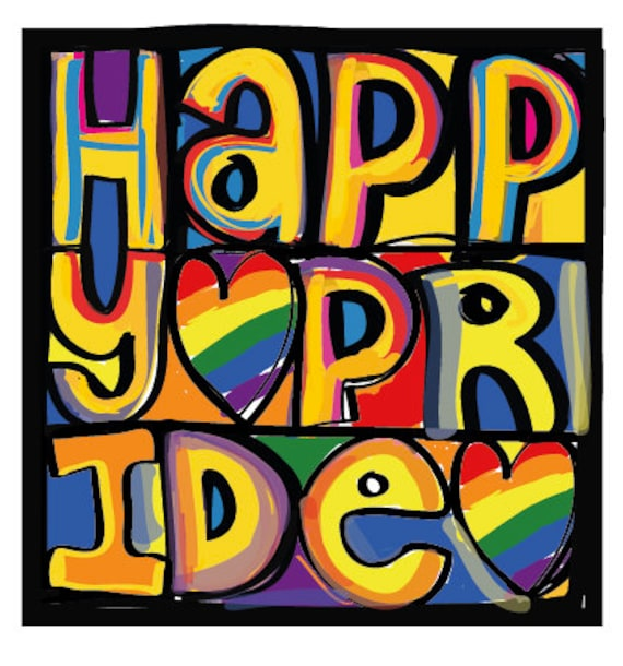 Happy Pride inspired by the Happy Mondays