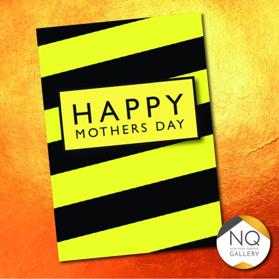 Hacienda/Madchester inspired Mother's Day Greeting Card