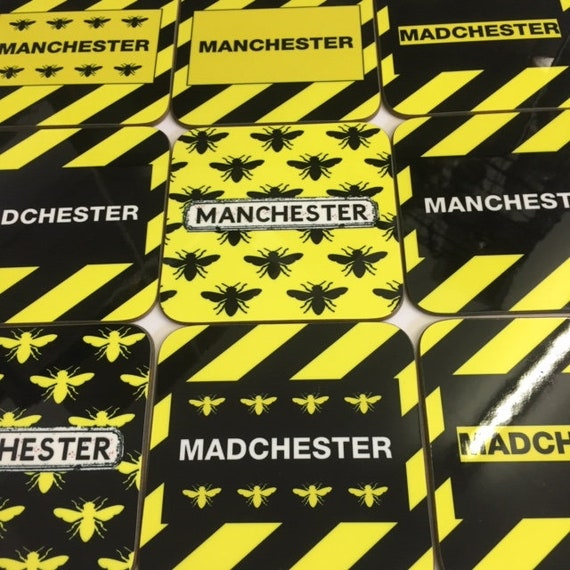 Madchester, Manchester, Hacienda inspired Coasters