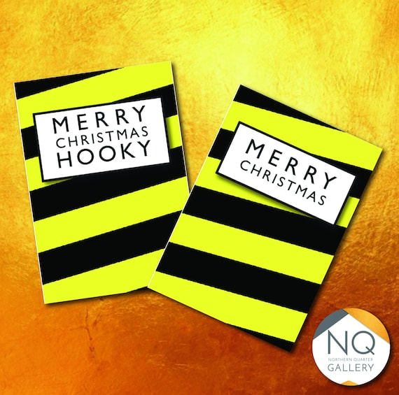 Hacienda inspired Merry Christmas Greeting Cards that can be personalised as well