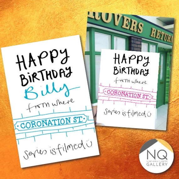 Coronation St Happy Birthday Cards