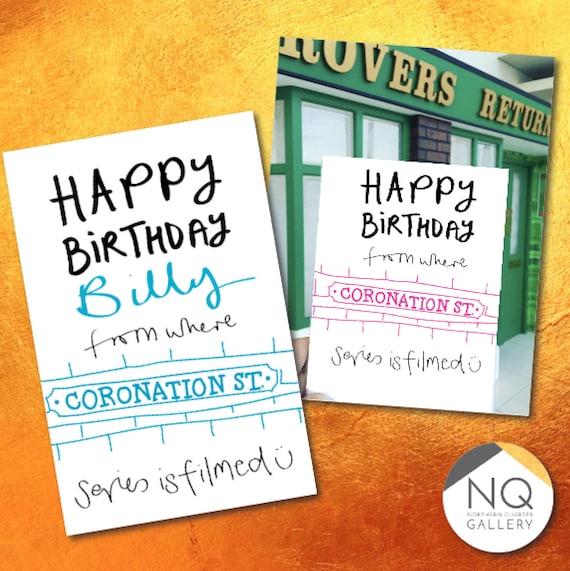 Coronation St Happy Birthday Cards