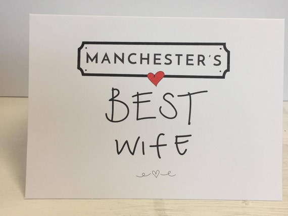 Any Locations BEST Wife, Husband, Partner, Girlfriend boyfriend Valentines personalised greeting card