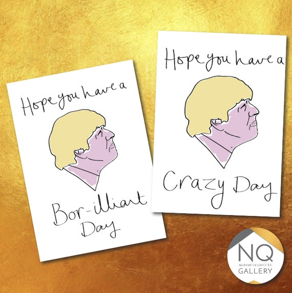 Boris Greeting Cards