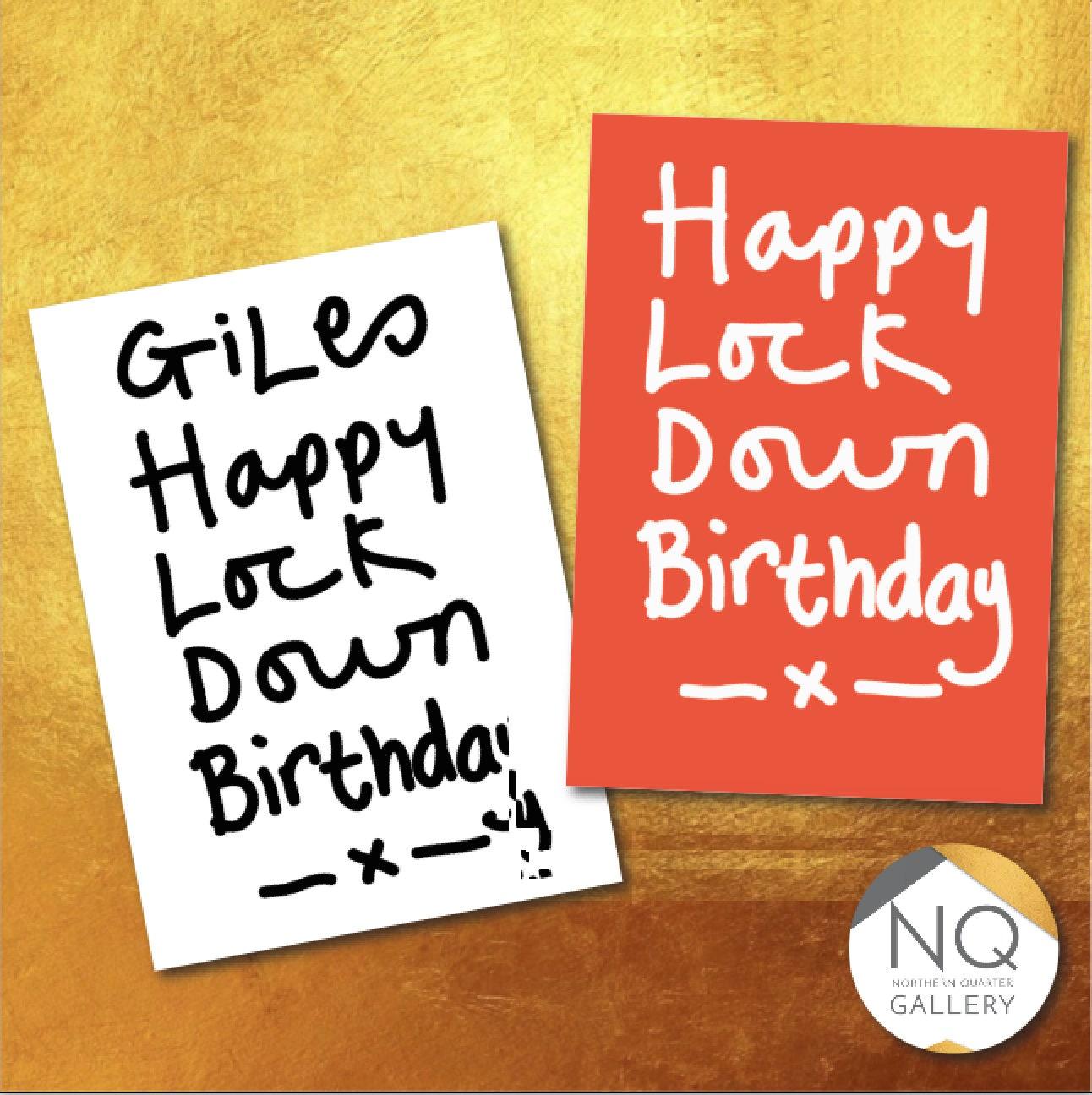 Happy LockDown Birthday