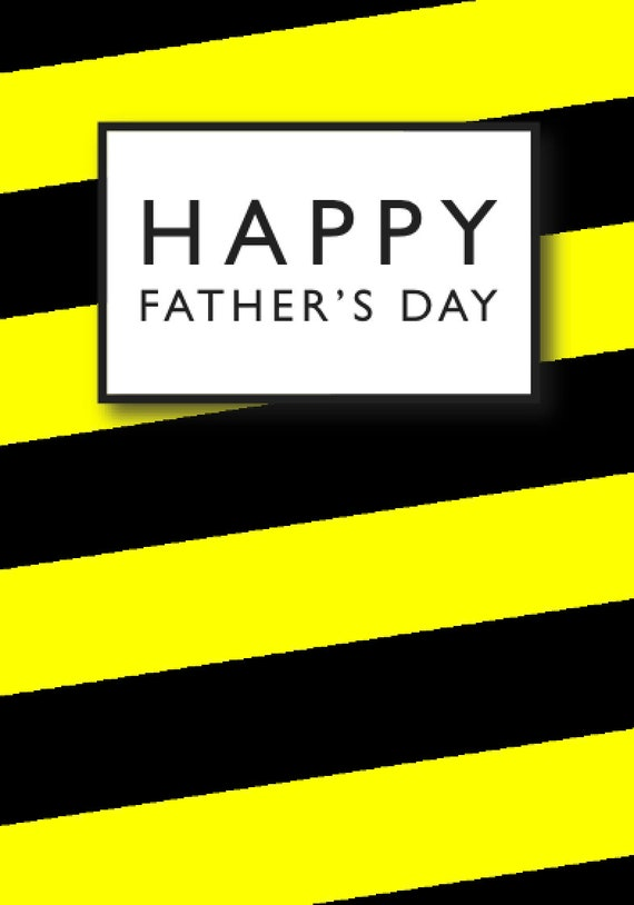 Hacienda/Madchester inspired Father's Day Greeting Card