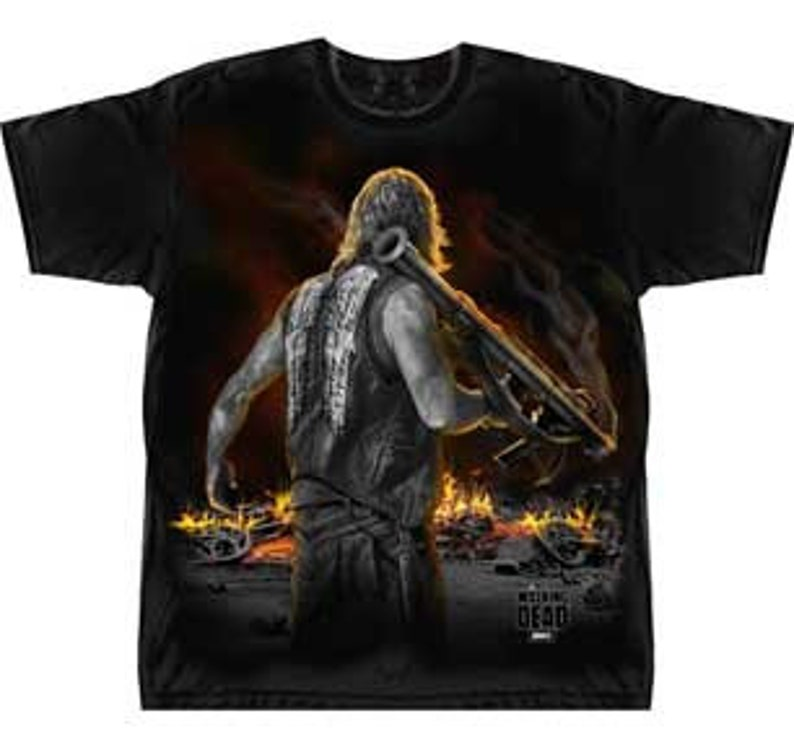 Daryl With Bazooka Graphic T shirt.