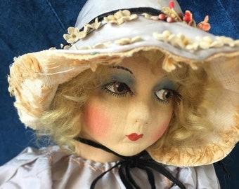 Antique 1920's Boudoir Doll. Gre Poir