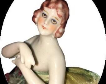 Antique Half Doll   Fasold & Sauch