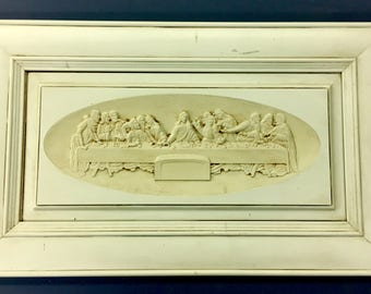 Last supper on re-cycled cabinet door