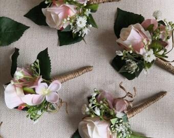 50 x Artificial Green Grass Corsage Bear Onion Designer Bouquets Wedding Deco