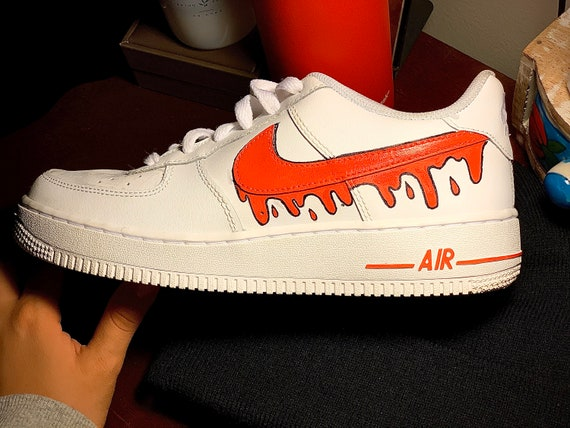 nike air force 1 painted