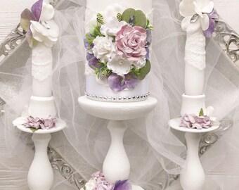 Purple wedding decor | Etsy