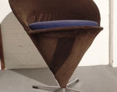 MID CENTURY Ice Bags Chair Swivel Chair Verner Panton Cone Chair