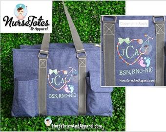 a757d1489f Grey tote bag