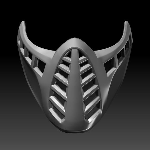 Classic Scorpion Mask Mortal Kombat 11 3d Printable Model Etsy