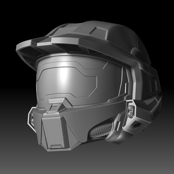 Master Chief Helmet Halo Infinite 3d Printable Model