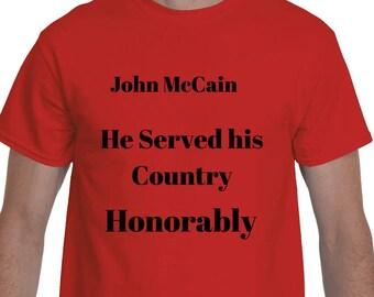 John McCain American Unity T-shirt