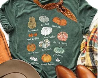 Pumpkin Patch ~ Pumpkin Shirt, Thanksgiving Tee, Cute Fall Shirt, Fall T, Pumpkin Silhouette, Bella Canvas Tee, Womens Graphic Tee,graphic t