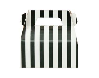 Striped Boxes Etsy