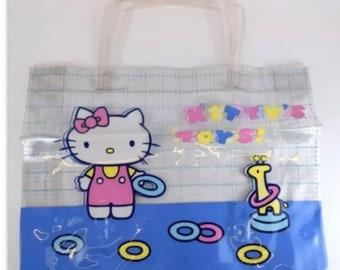 7f86039228b7 1976 Sanrio vintage Hello Kitty Beach Bag New condition