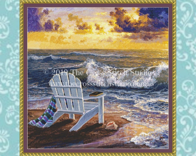 Be Still Cross Stitch Pattern ~ SMALL