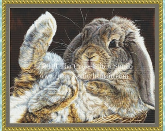 Rabbit Feets Cross Stitch Pattern
