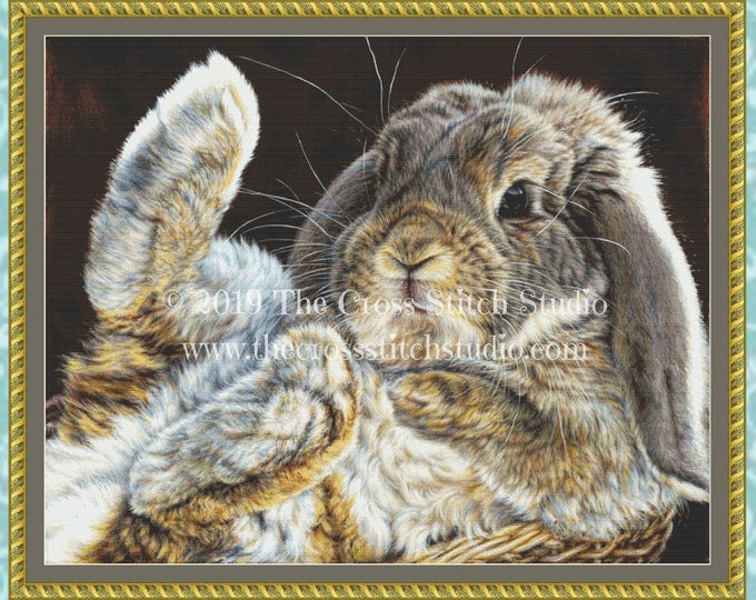 Rabbit Feets Cross Stitch Pattern