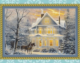 Christmas Cross Stitch Pattern SMALL
