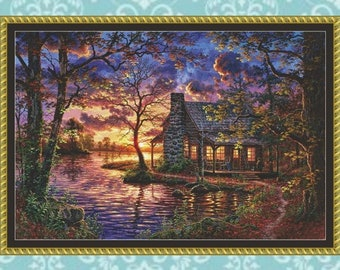 Hiding Place Cross Stitch Pattern