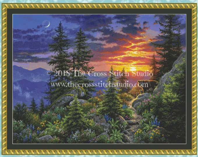 From the Ashes Cross Stitch Pattern LARGE